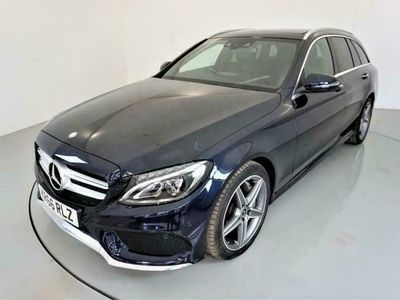 used Mercedes C250 C-CLASS 2.1D AMG LINE PREMIUM PLUS 5d 204 BHP diesel estate