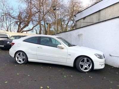 used Mercedes CLC160 Clc Class 1.6BLUEEFFICIENCY SPORT 3d 129 BHP *** FULL BLACK/WHITE LEATHER **