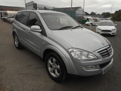 used Ssangyong Kyron 2.0 EX 5dr Tip Auto