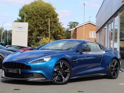 used Aston Martin Vanquish V12 595 S 2+2 2dr Touchtronic