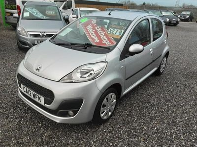 used Peugeot 107 ACTIVE 1000cc-75K-FREE ROAD TAX-2 OWNERS-LOW INSURANCE,,,,,,,,,, 5-Door
