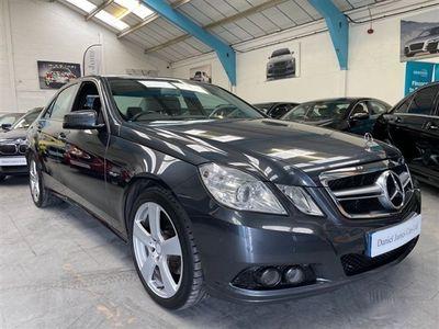 used Mercedes E200 E-Class 2.1CDI BLUEEFFICIENCY SE 4d 136 BHP