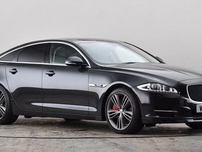 used Jaguar XJ 5.0 V8 Supercharged Supersport 4dr Auto [LWB] Grey Automatic Petrol