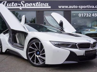 used BMW i8 1.5 11.6kWh Auto 4WD (s/s) 2dr