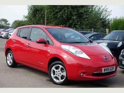 used Nissan Leaf Visia+