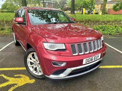 used Jeep Grand Cherokee 3.0 CRD Summit Auto 4WD 5dr