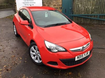 used Vauxhall Astra GTC ASTRA 1.4SPORT S/S 3d 118 BHP Two Owners Service Hi
