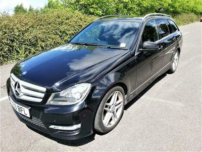 used Mercedes C350 C-Class EstateCDI BlueEFFICIENCY AMG Sport 5d Auto