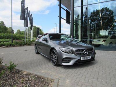 used Mercedes E220 E CLASS DIESEL CABRIOLETAMG Line Premium Plus 2dr 9G-Tronic