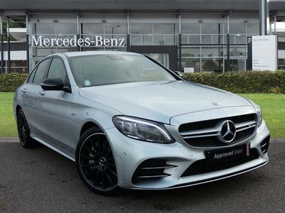 used Mercedes C43 AMG C CLASS4Matic Premium 4dr 9G-Tronic Automatic amg saloon