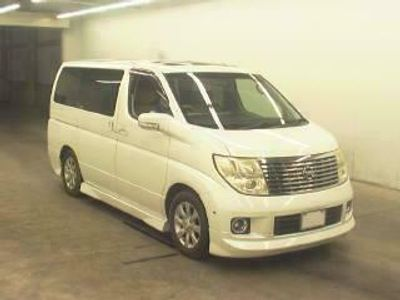 used Nissan Elgrand XL 4WD SUNROOF CURTAINS RECLINERS 3.5 5dr