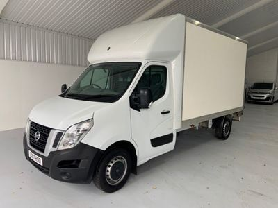 used Nissan NV400 DCI SE SHR C-C LUTON TAILIFT, 2017, not known, 13500 miles.