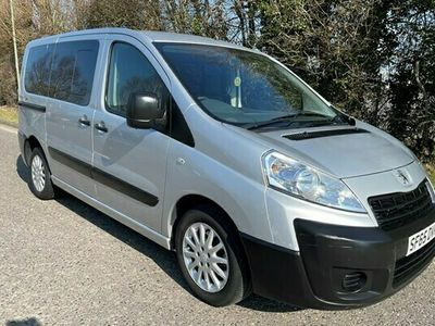 used Peugeot Expert Tepee Automatic 6 Seat Wheelchair Accessible Disabled Access Ramp Car 2.0 5dr