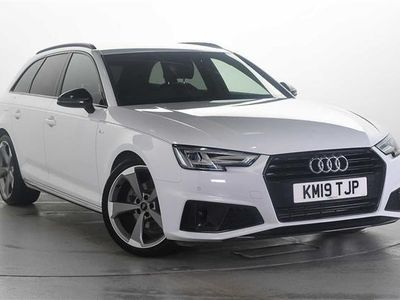 used Audi A4 Avant Black Edition 35 Tfsi 150 Ps 6-Speed 5-Door