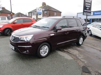 used Ssangyong Rodius 2.2 EX 5d AUTO 176 BHP