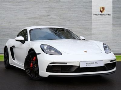used Porsche Cayman 2.5 GTS 2dr coupe