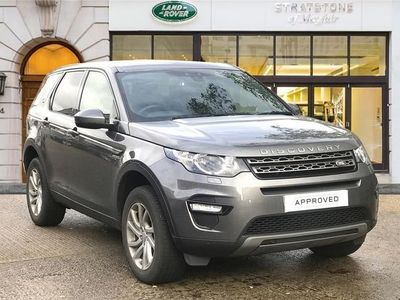 used Land Rover Discovery Sport 2.0 TD4 180 SE Tech 5dr Auto