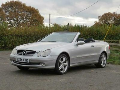 used Mercedes CLK240 Avantgarde 2dr Tip Auto