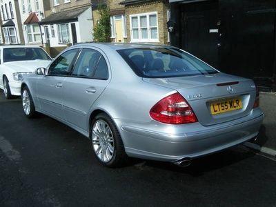 used Mercedes E320 E ClassCDI Sport Saloon 2005