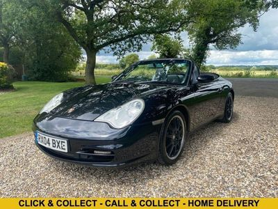 used Porsche 911 Carrera 4 3.6 TIPTRONIC S 316 BHP SPORTS CONVERTIBLE AUTOMATIC - ONLY 80,2 2-Door