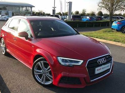used Audi A3 Sportback S line 35 TFSI 150 PS 6-speed