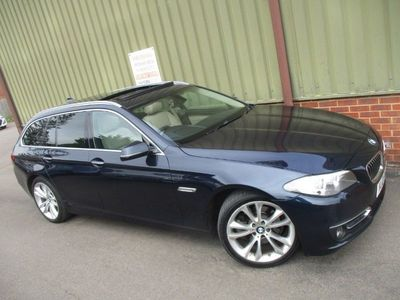 used BMW 520 5 Series d LUXURY TOURING Automatic 2.0 5dr