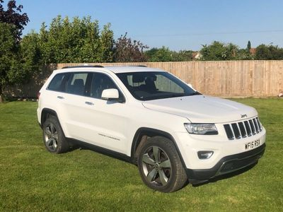 used Jeep Grand Cherokee 3.0 V6 CRD Limited Plus Auto 4WD 5dr