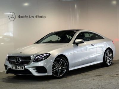 used Mercedes E220 E-ClassAmg Line Premium Plus 2Dr 9G-Tronic