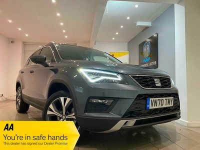 used Seat Ateca 2.0 TDI 150 SE 5dr DSG 4Drive 3K MILES**1 OWNER**AUTO**FINANCE AVAILABLE**