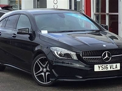 used Mercedes 220 CLA ClassAMG Sport 4Matic 5dr Tip Auto
