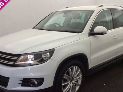 used VW Tiguan DIESEL MANUAL ESTATE 5 DOORS