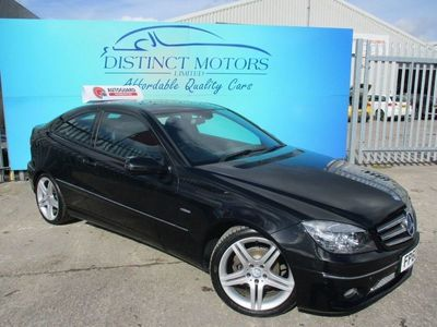 used Mercedes CLC160 Clc Class 1.6BLUEEFFICIENCY SPORT 3d 129 BHP FULL LEATHER INTERIOR