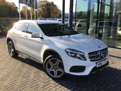 used Mercedes GLA220 GLA CLASS DIESEL HATCHBACK4Matic AMG Line 5dr Auto