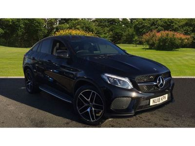 used Mercedes GLE350 Gle Coupe4Matic AMG Night Edition 5dr 9G-Tronic Diesel Estate 3.0