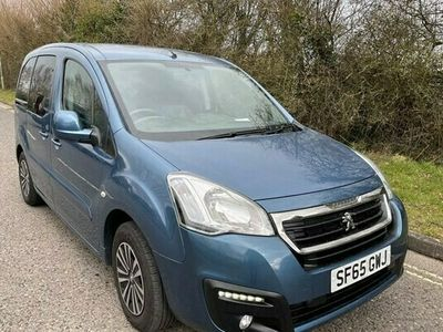 used Peugeot Partner Tepee Euro 6 5 Seat Wheelchair Accessible Disabled Access Ramp Car 1.6 5dr