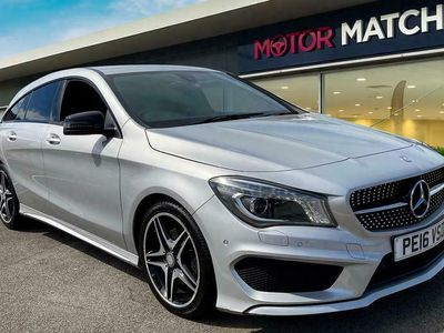 used Mercedes CLA220 ClaAMG Sport 4Matic 5dr Tip Auto