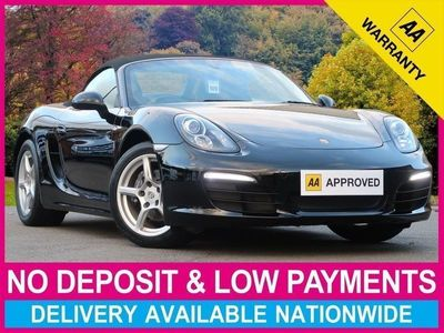 used Porsche Boxster 2.7 24V 981 ROADSTER CONVERTIBLE 2DR