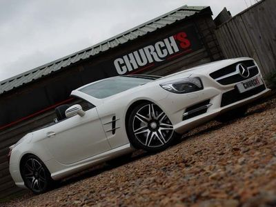 used Mercedes SL500 SL Class 4.7V8 AMG Line G-Tronic+ (s/s) 2dr