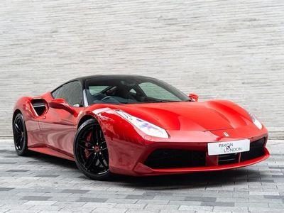 used Ferrari 488 GTB - Two Tone Exterior/ Carbon Steering Wheel + LED's/ Carbon Aid Splitter/ Apple Car Play + More