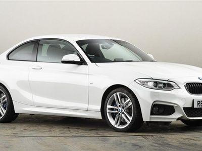 used BMW 228 2 SERIES i M Sport 2dr [Nav] White Manual Petrol