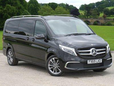 used Mercedes V220 V Class Dieseld Sport 5dr 9G-Tronic (Extra Long) Estate 2019