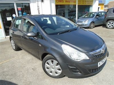 used Vauxhall Corsa 1.3 CDTI EcoFlex Exclusiv (a/c) (stop/start) 5 door