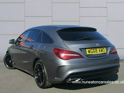used Mercedes CLA220 D AMG LINE NIGHT EDITION 2.2 5dr