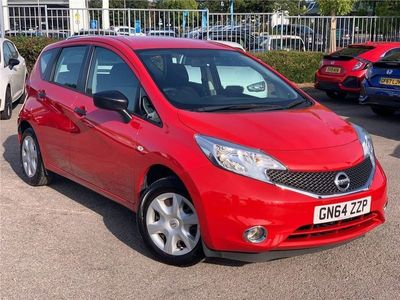 used Nissan Note 1.2 Visia Limited Edition Hatchback 5dr Petrol Manual (109 g/km, 79 bhp)