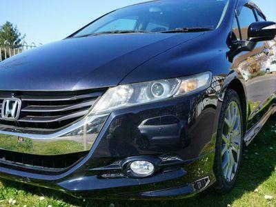 used Honda Odyssey Absolute 5-Door Pearl Blue Warranty 18 Inch Alloys