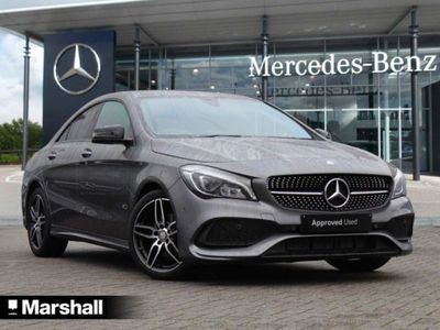 used Mercedes CLA180 CLA ClassAMG Line 4dr Saloon 2016