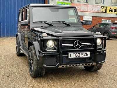 used Mercedes G63 AMG G Class 5.5BiTurbo AMG SpdS+7GT 4WD (s/s) 5dr