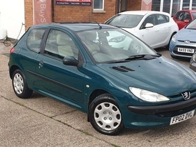 used Peugeot 206 1.4 LX 3dr (electric sunroof)