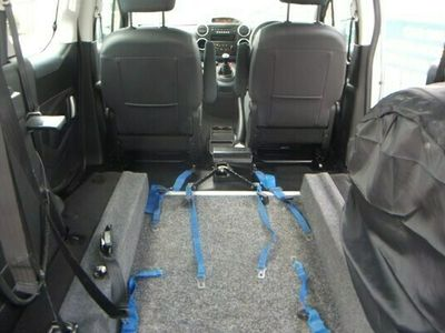 used Peugeot Partner Tepee 1.6 HDi 92 S 5dr WHEELCHAIR ACCESS VEHICLE RAMP ELECT WINCH LOWERED FLOOR