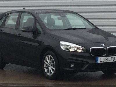 used BMW 216 2 SERIES d SE 5dr Black Manual Diesel